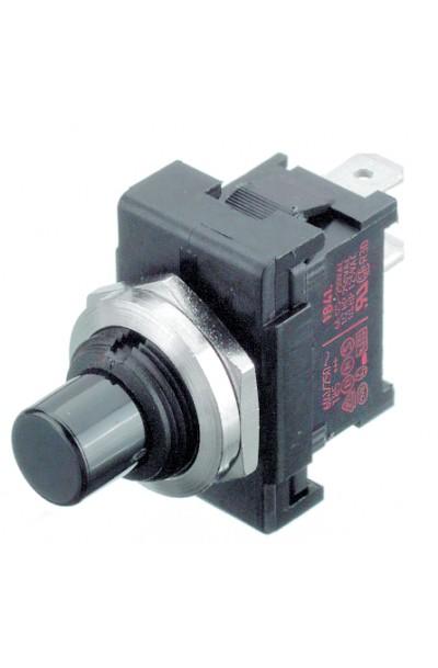 SPST-NO Panel Mount Alternate Push Button Switch, 6 A@ 250 V ac