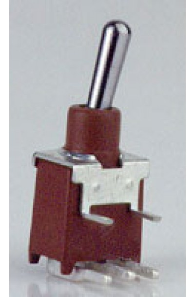 3 PIN RIGHT ANGLE MINI TOGGLE SWITCH