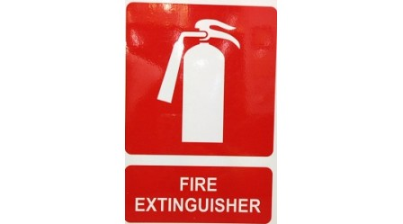 Fire Extinguisher Sign (A4)