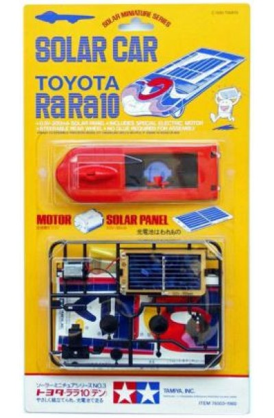 Solar Car Toyota RaRa X