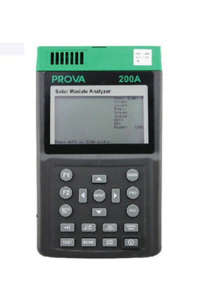 Photovoltaic Cell Analyser, Rechargeable Li-Ion Battery 6A 60V ±1%
