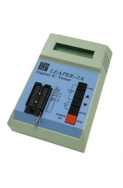 Leap IC Tester IC 16 Char x 1 Row, LCD
