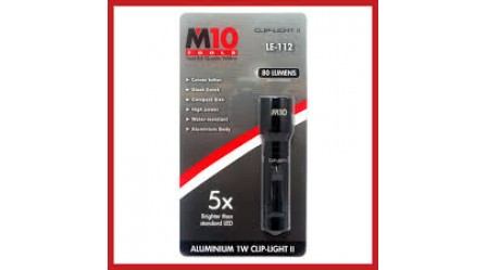 M10 LE-112 1W LED Aluminium Clip Light