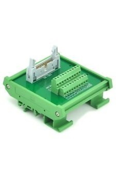 20 way IDC interface module - Din Rail Mounting