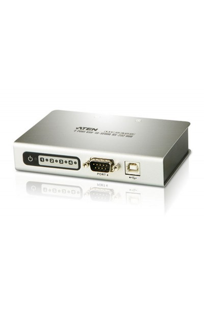 ATEN 4-Port USB to RS-232 Hub