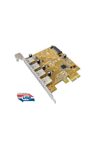 USB3.0 4-port PCI Express Host Controller