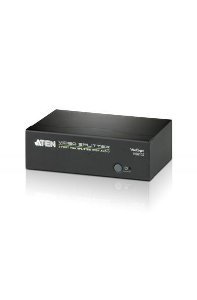 ATEN 2-Port VGA/Audio Splitter (450MHz)