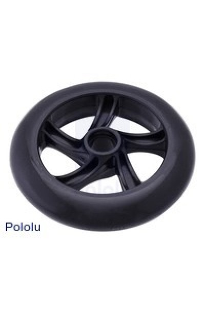 Scooter/Skate Wheel 144×29mm - Black - 4 WHEEL
