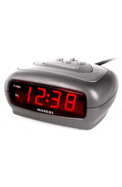 HOSEKI Alarm Clock H-5008 Silver