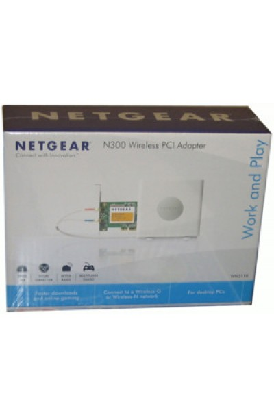 NETGEAR - N300 WIRELESS PCI ADAPTOR