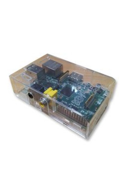 RASPBERRY-PI - RPI-B-512-CASED - SBC, RASPBERRY-PI (B) 512MB, CASED