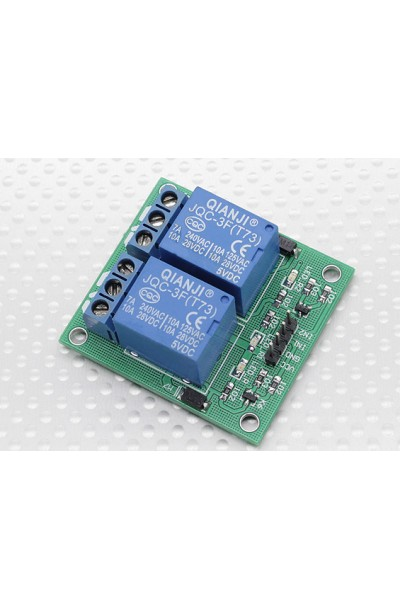 ARD 2-Channel Relay Shield Module for Arduino (Works with Official Arduino Boards)