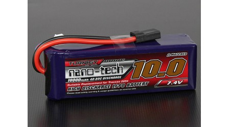 Turnigy nano-tech 10000mah 2S 40~80C Lipo Pack