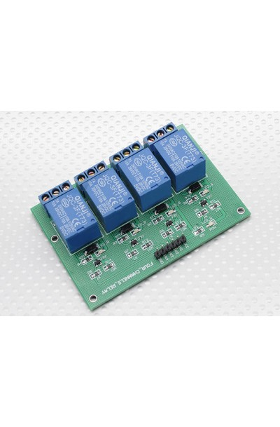 ARD 4-Channel Relay Shield Module for Arduino (Works with Official Arduino Boards)
