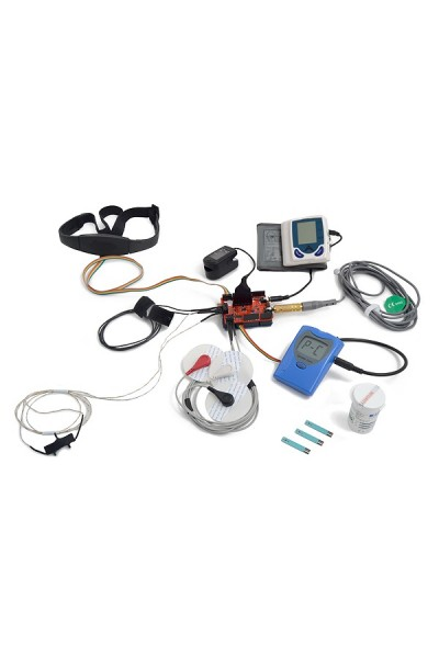 CH e-Health Sensor Platform Complete Kit for Arduino and Ras Pi (9 SENSORS INCLUDED)
