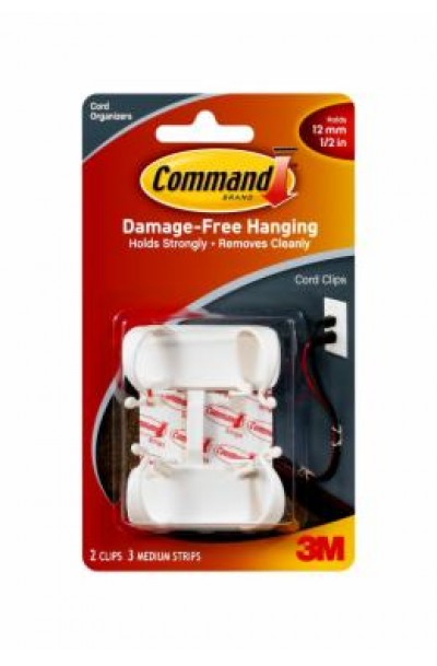 3M COMMAND CORD CLIPS(MEDIUM)