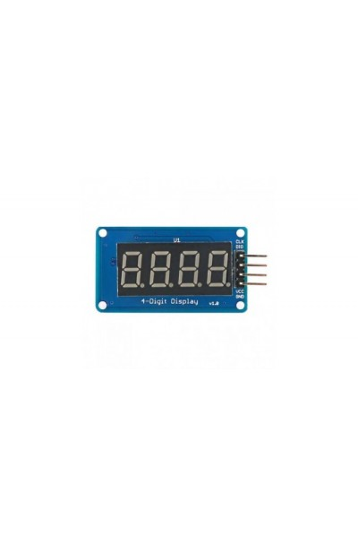 7 SEGMENT 4 DIGIT DISPLAY W/TM1637 DRIVER