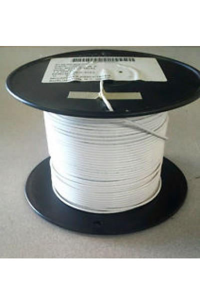 M22759/16-16-9 White 16 AWG Tefzel Hook Up Wire - Aircraft Wire