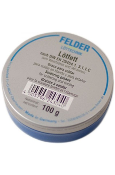 Felder Tin Soldering Grease Flux 100g