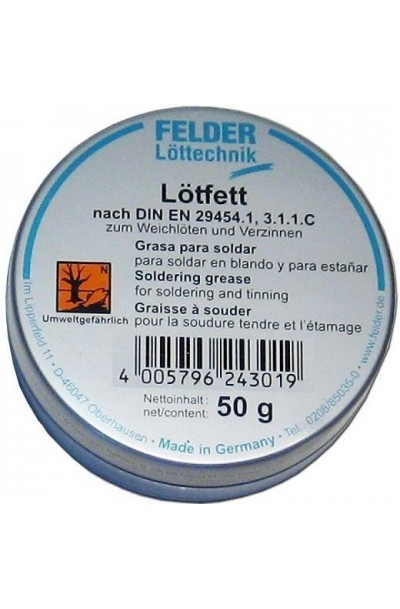 Felder Tin Soldering Grease Flux 50g