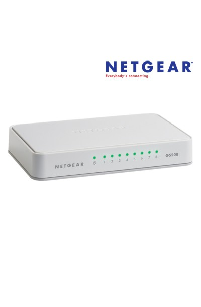 NETGEAR 8-Port Gigabit Ethernet Switch
