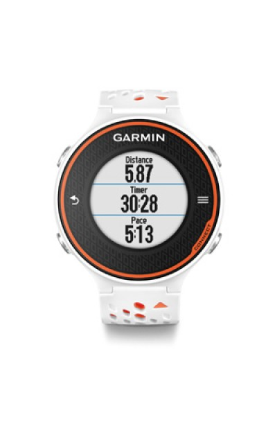 Garmin Forerunner® 620(White/Orange) with HRM