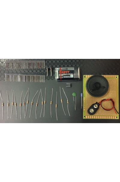 Electronics Organ - Wire Wrap (with PCB)