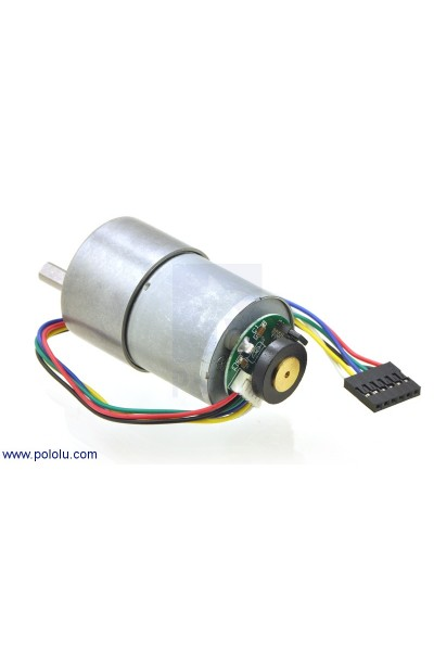 70:1 Metal Gearmotor 37Dx54L mm with 64 CPR Encoder