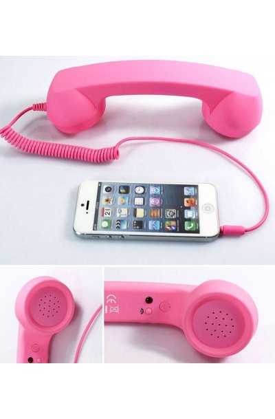 Retro 3.5 mm Mobile phone Headset