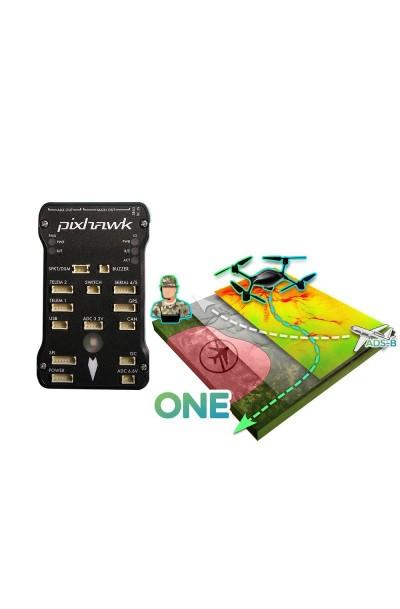 3DR PX4 Pixhawk Autopilot (w/ GPS) w/ U|g|CS One Ground Control Software