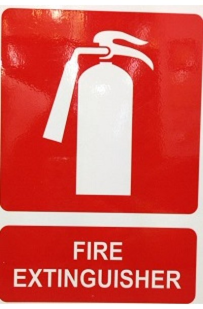 Fire Extinguisher Sign (A3)