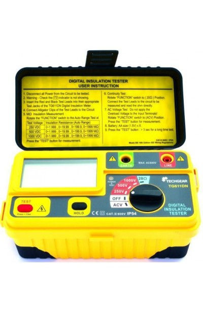 TECHGEAR Digital Insulation Tester