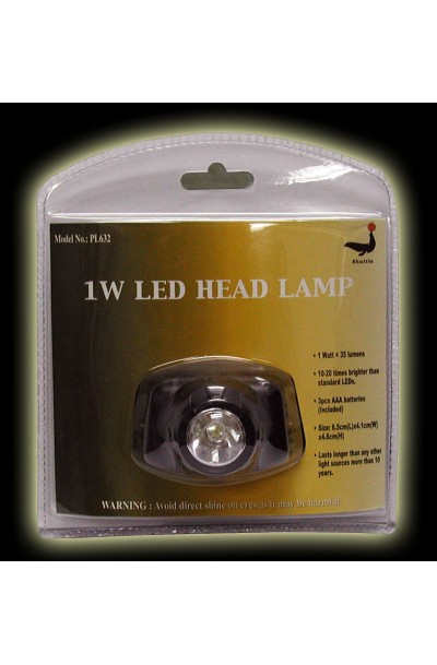 1W LED Head Lamp