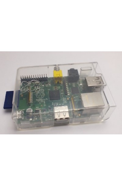 Raspberry - ENCLOSURE ONLY FOR RASPBERRY PI, CLEAR