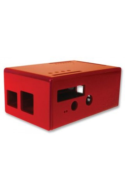 RASPBERRY - ENCLOSURE, RASPBERRY PI FACE, RED
